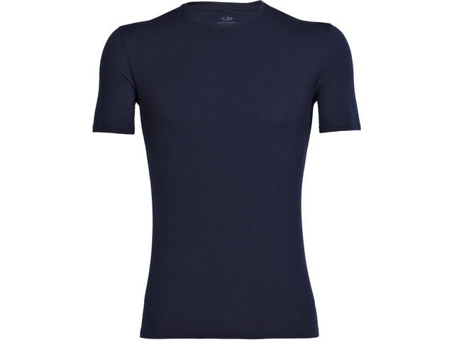 Icebreaker Anatomica SS Crew Top Men midnight navy